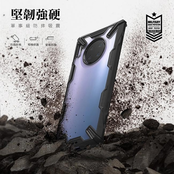 [Ringke] Rearth หัวเว่ยหัวเว่ย Mate 30 Pro [ฟิวชั่น X] โปร่งใสกรณีที่โทรศัพท์กันชนหลัง