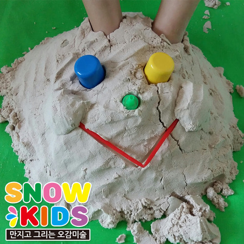 (SNOWKIDS)SNOWKIDS Korea children five senses inspire snow sand (scented)