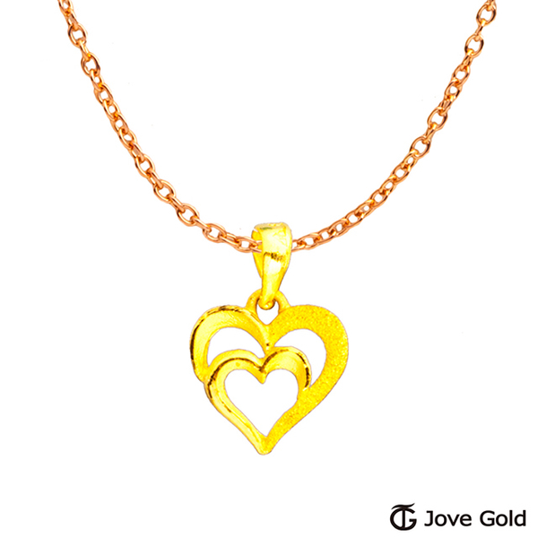 (Jove Gold)Jove Gold gilt ornaments with gold pendants and necklaces