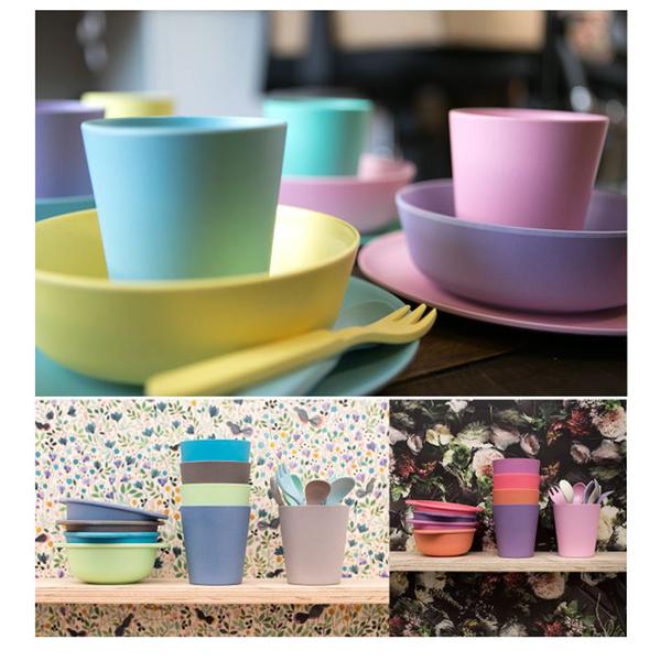 Australia bobo & boo cup bamboo fiber Macaron group - Ocean