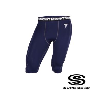 [] กล้ามเนื้อจุด SUPEROAD SPORTS ฟังก์ชั่นกีฬาอาชีพ / กางเกงขาสั้น (สีฟ้า)