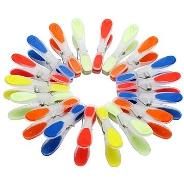 Seamless rainbow TRP wind clothespin 18 for all the groups (CHCP-3957)