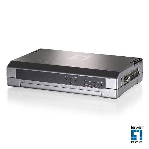 (LevelOne)LevelOne's Trendiest Print Server Printer Server FPS-1033