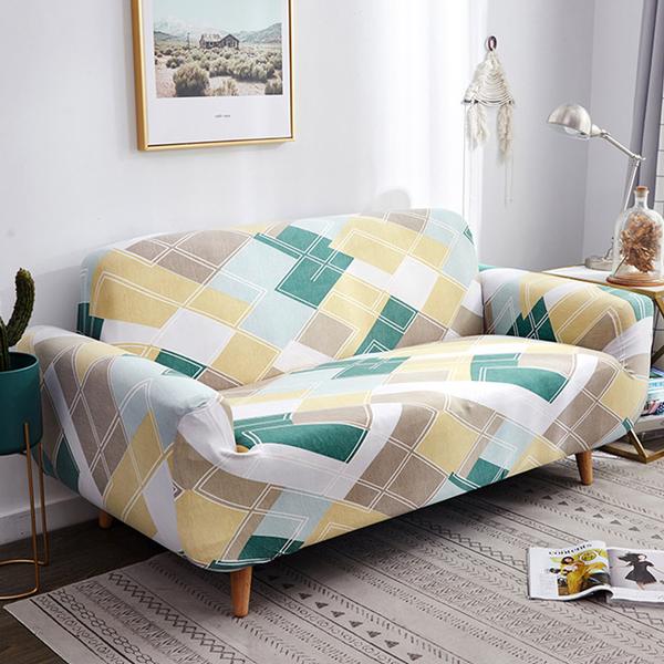 Brisk Living Elastic Sofa Cover Three-seater