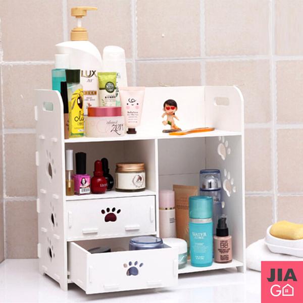 (JIAGO)JIAGO DIY Cosmetics Desktop Drawer Storage Box