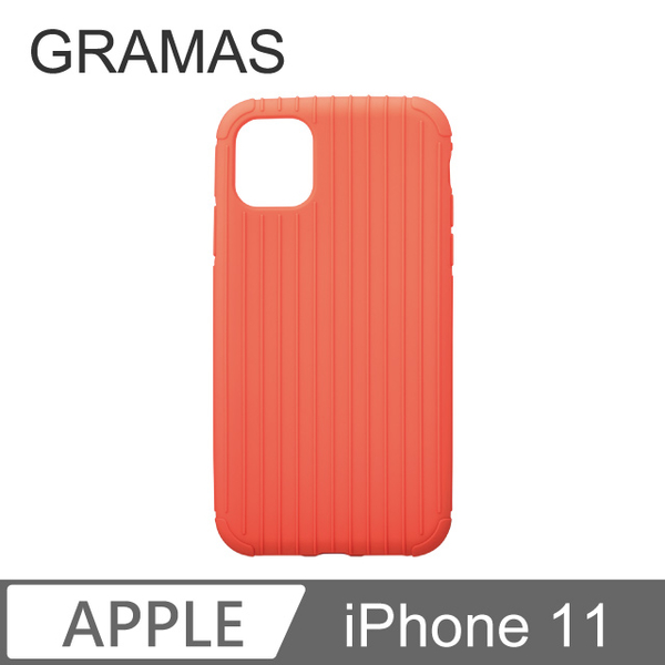 GM iPhone 11 feather amount classic protective shell - Rib Light (peach)