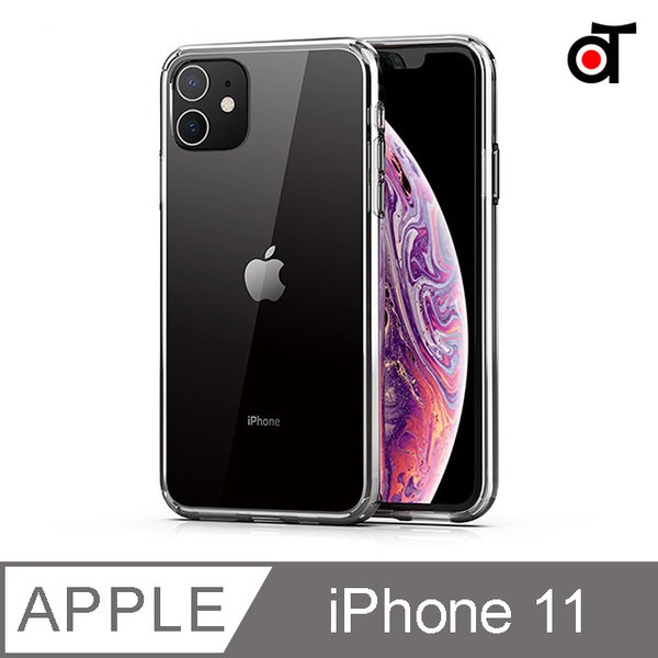 (ATO SELECT)[ATO SELECT] iPhone 11 shock absorber cushioning anti-drop transparent back cover phone case