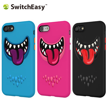 SwitchEasy Monsters iPhone 7 monster smile protective shell