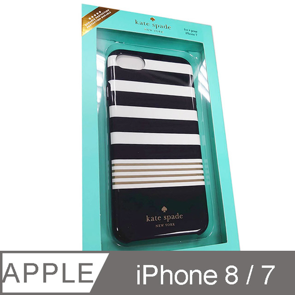 (Kate Spade)Kate Spade iPhone 7/8 Case-Striped Navy