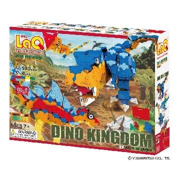 [Dinosaur] LaQ Kingdom (980pcs + 8pcs)
