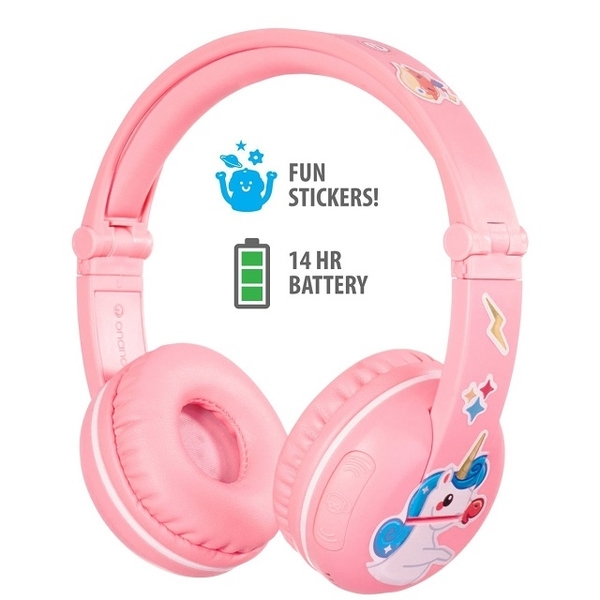 (buddyphones)[buddyphones] Wireless Bluetooth PLAY Safety Children's Headphones