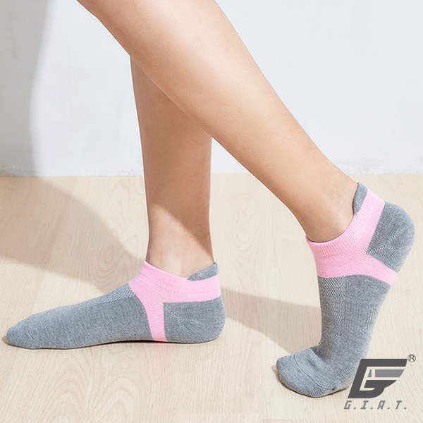 GIAT in Taiwan perspective Socks guard boat with Lycra (men and women can wear) - ash