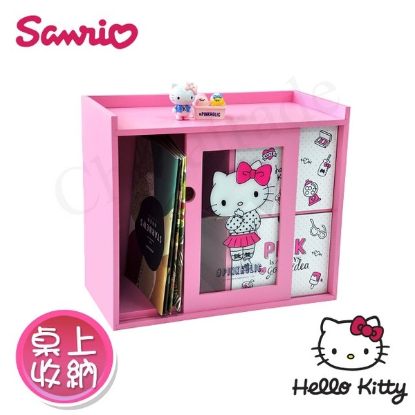 [Hello Kitty] Pinkholic Hello Kitty Beauty transparent pull drawers Desk Organizer Stationery storing jewelry storage (genuine authority in Taiwan)