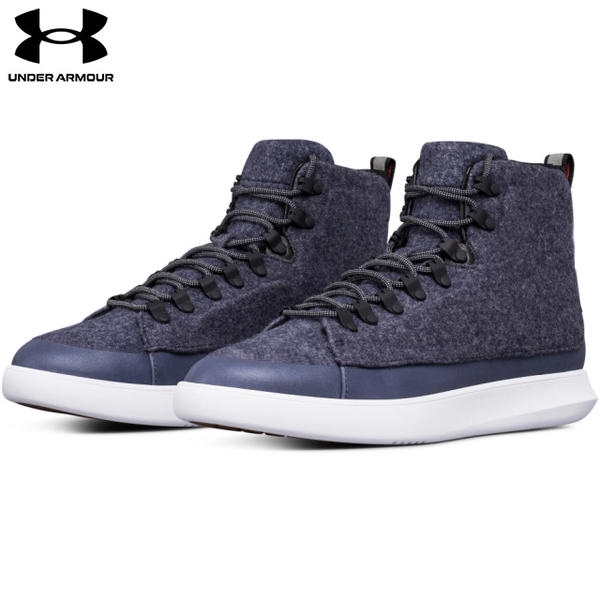 (UNDER ARMOUR)[UNDER ARMOUR] Men's Club Mid tube casual shoes Navy
