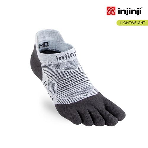 (injinji)[INJINJI] RUN lightweight five-toed stealth socks [Gray] Five-toed socks