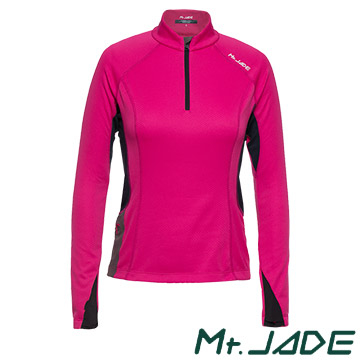 (Mt. Jade)Mt. JADE female models i-Cosey Varuna suction half cardigans - rose pink / dark blue