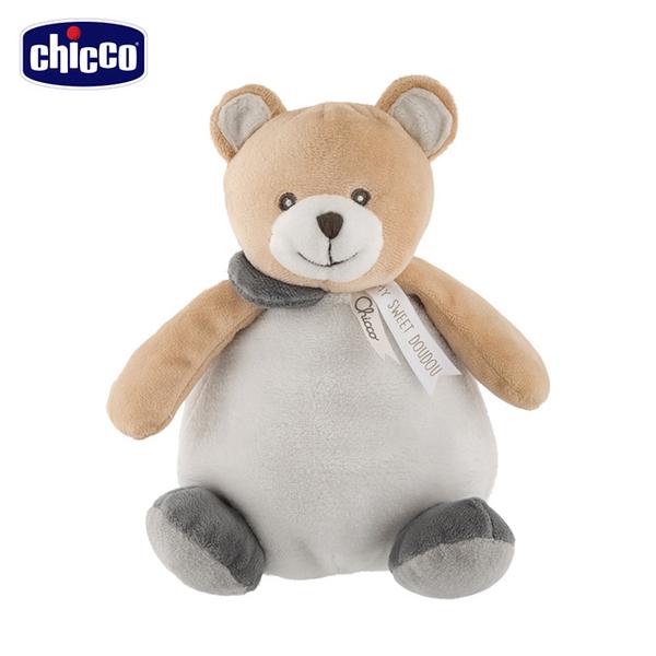 [] Chicco Teddy Bear hair & # 32466; cloth ball