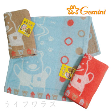 (一品川流)Milk Bear Child Towel in the Cloud-SD564K-2