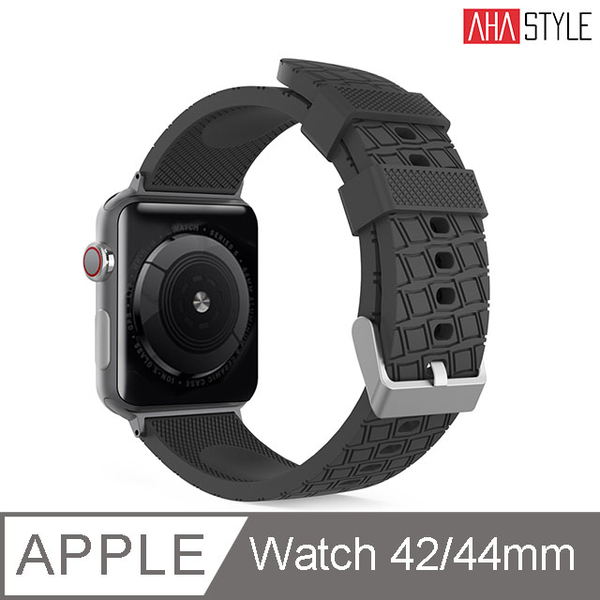 (AHAStyle)[AHAStyle] Sports Watch Off-road Model (42 / 44mm) Black for Apple Watch