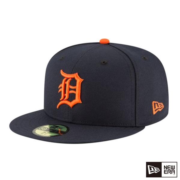 NEW ERA 59FIFTY 5950 MLB player cap tiger dark blue / orange