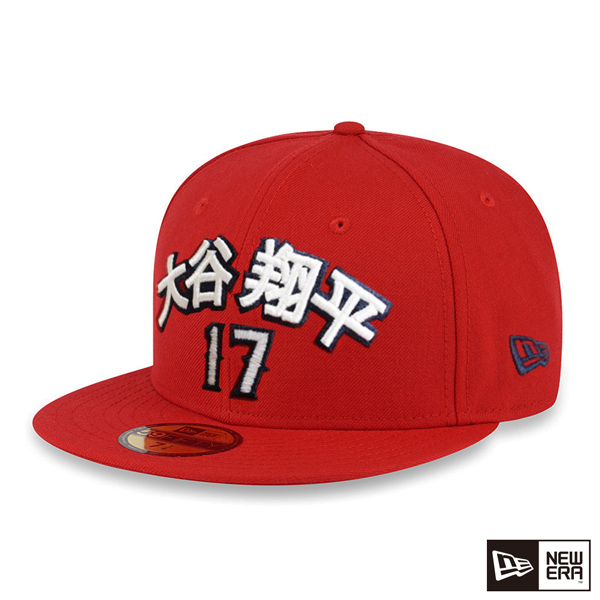 NEW ERA 59FIFTY 5950 MLB Angels OHTANI Shohei Otani 17 red