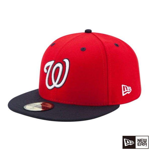 NEW ERA 59FIFTY 5950 MLB player cap national red / navy