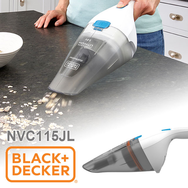 (BLACK+DECKER)United States BLACK + DECKER Light Handheld Wireless Vacuum Cleaner NVC115JL