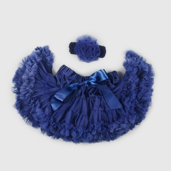 (La Chamade)Good Day Baby Girl Chiffon Tutu - Heart of the Sea