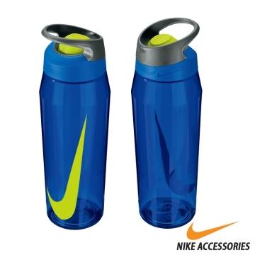 NIKE ROCKER 24oz bottle lid push Blue