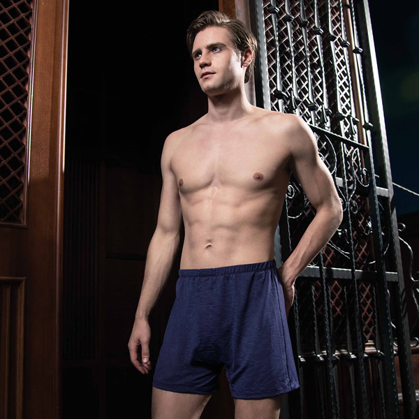 DAYNEER loose Shuhuo boxers (classic blue)