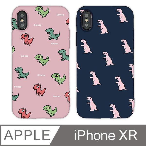 (TOYSELECT)[TOYSELECT] Fashion Classic Dinosaur Squander Phone Case iPhone XR