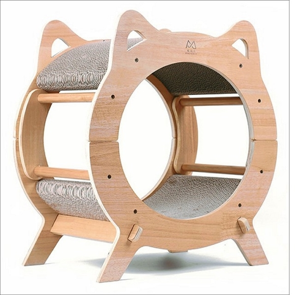 (喵仙兒)[Meow Fairy] Round Cat TV Cat Cat Cat Nest (Cat Cat Cat Cat Cat Toy)