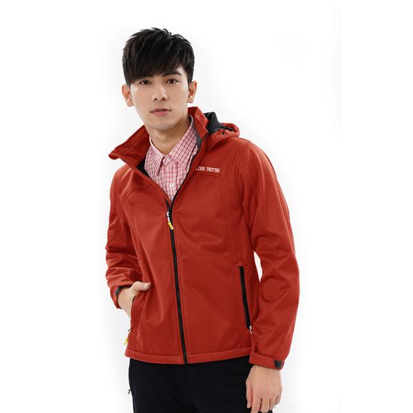 (globe trotter)Travel the world's men's GlobeTex waterproof breathable windproof bristle soft shell jacket