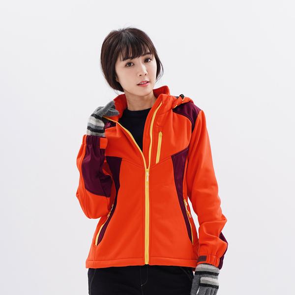 (globe trotter)Women's GlobeTex waterproof moisture-proof windproof bristles soft shell jacket