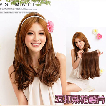 Pear curved tail wig hair pieces