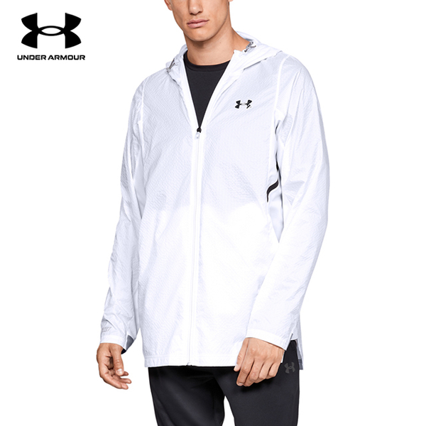 (under armour)[UNDER ARMOUR] Men's UA Select Zip Jacket (White)