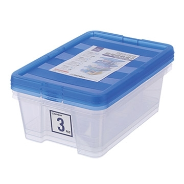 KEYWAY 9L blue ocean storage cassettes CR-8093/3 into / 393x267x126mm