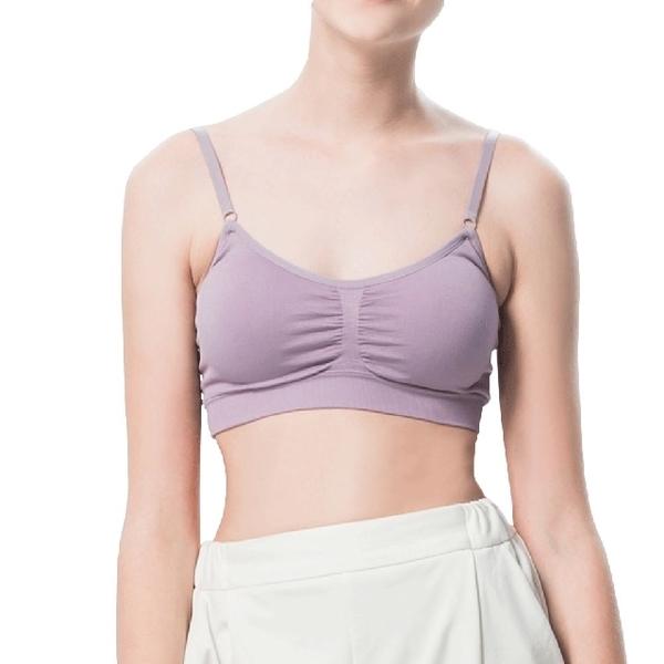 [Republic] cotton adjustable shoulder strap sports underwear - purple