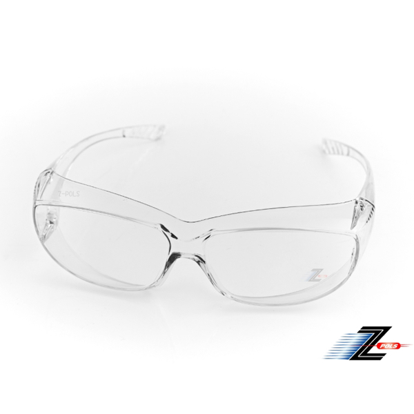 [Z-POLS] สามารถเคลือบแก้วในการระเบิดการออกแบบเครื่องคอมพิวเตอร์แว่นตาเลนส์ความปลอดภัยป้องกัน UV400 โปร่งใสลม C2