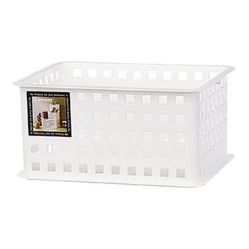 KEYWAY large grid storage basket OR165 / 288x222x140mm