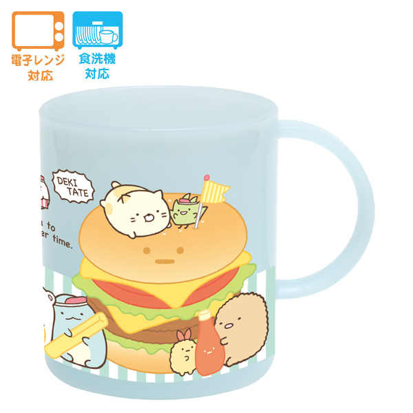 (san-x)San-X Corner Bio Mouthwash Cup. Burger theme