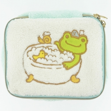 pickles the frog Rana Pick Meng plush cosmetic case (with the mirror)