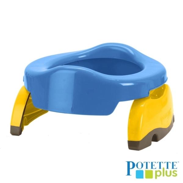 (Potette Plus)American Potette Plus Portable Kids Toilet (Blue)