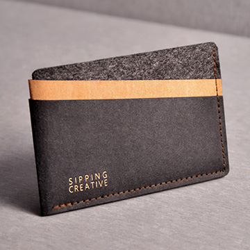 (SIPPING CREAITVE)Credit card holder _ fashion black _ credit card set _ certificate set _ leisure card _ business card _ certificate _ ticket card ho