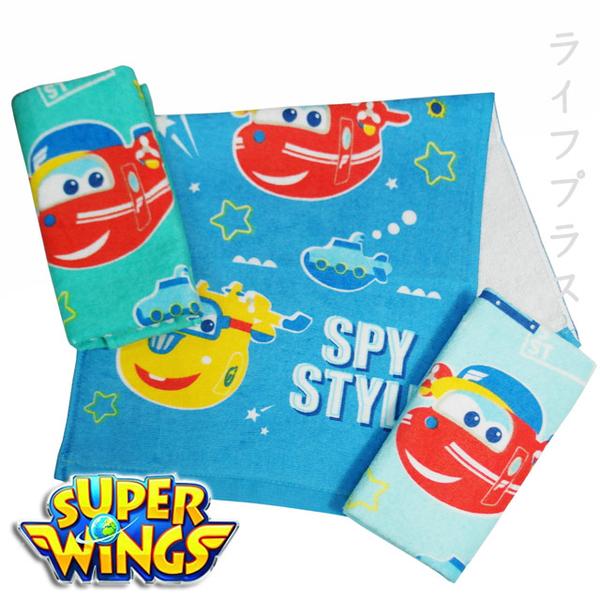 (一品川流)Super Wings Cotton Print Children's Towel-SW-91-2