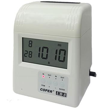 COPER Paco UB-8 four columns clock electronic card