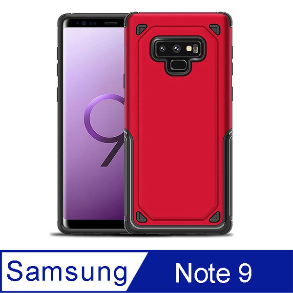 Seismic drop resistance protective shell for Samsung Note 9