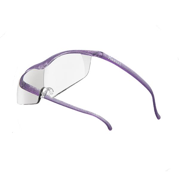(Hazuki)[Hazuki] Japan Hazuki Hazuki Transparent Glasses Magnifier 1.85x Large Lenses (Bright Purple)