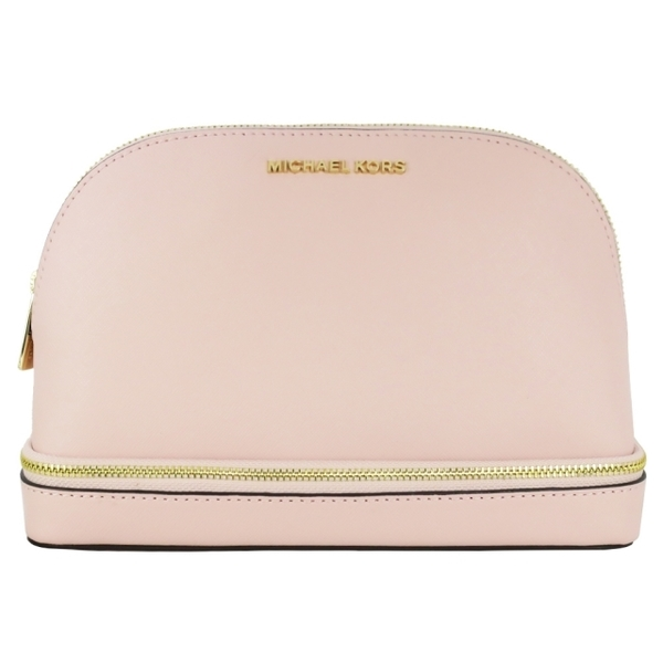 (MICHAEL KORS)MICHAEL KORS GIFTABLES plain scratch-resistant shell cosmetic bag-cherry blossom powder