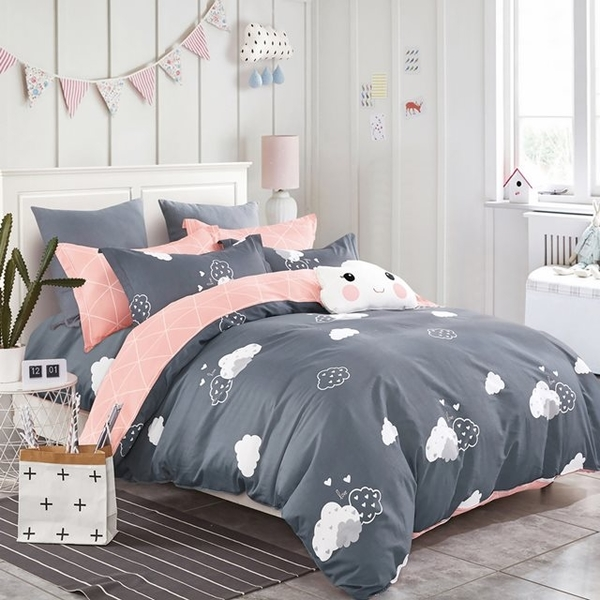 (Ania Casa)Ania Casa 100% Cotton Made in Taiwan-Single Pack-Two-Piece Pillowcase-Walk the Clouds